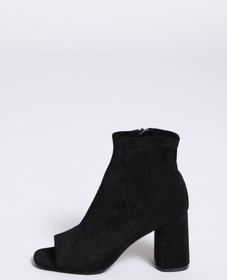 Boots ouvertes noir