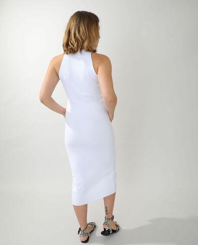 Robe bodycon blanc