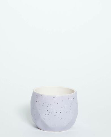 Pot géométrique violet - Pimkie