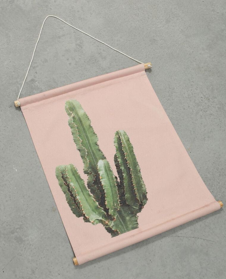 Panneau mural imprimé rose - Pimkie