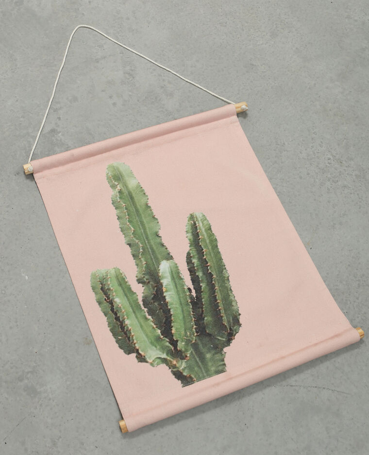 Panneau mural imprimé rose