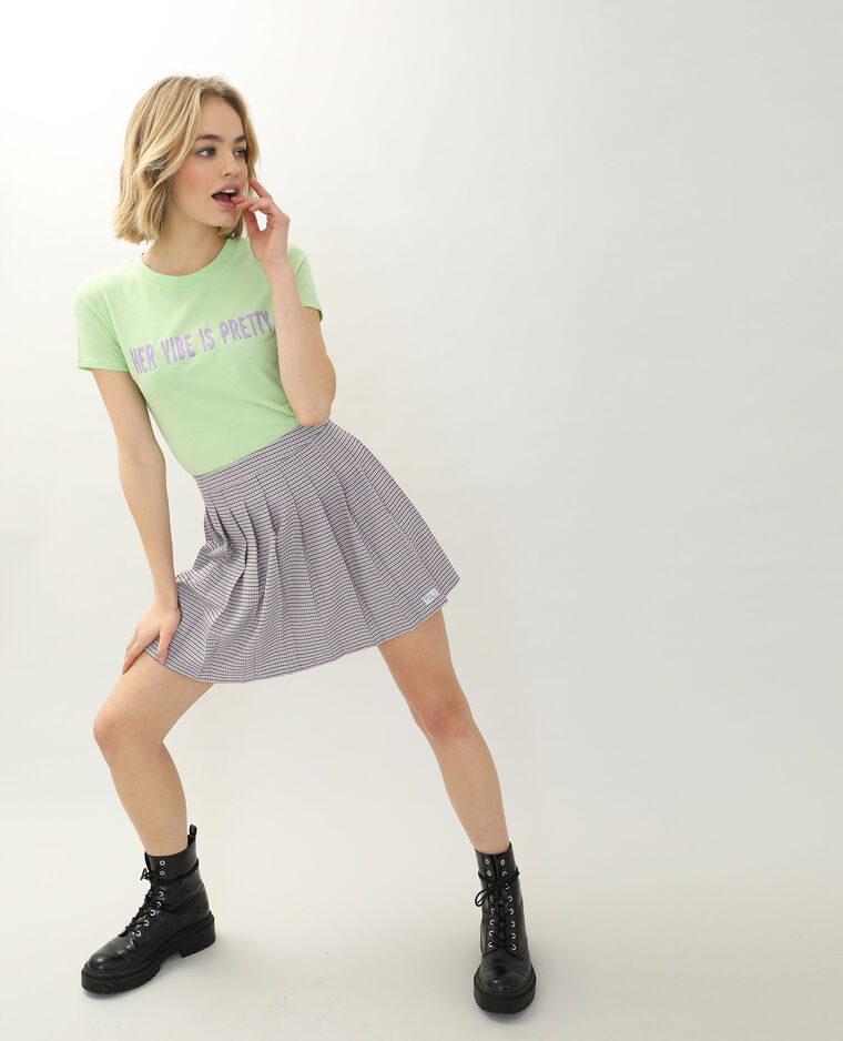 T-shirt manches courtes vert