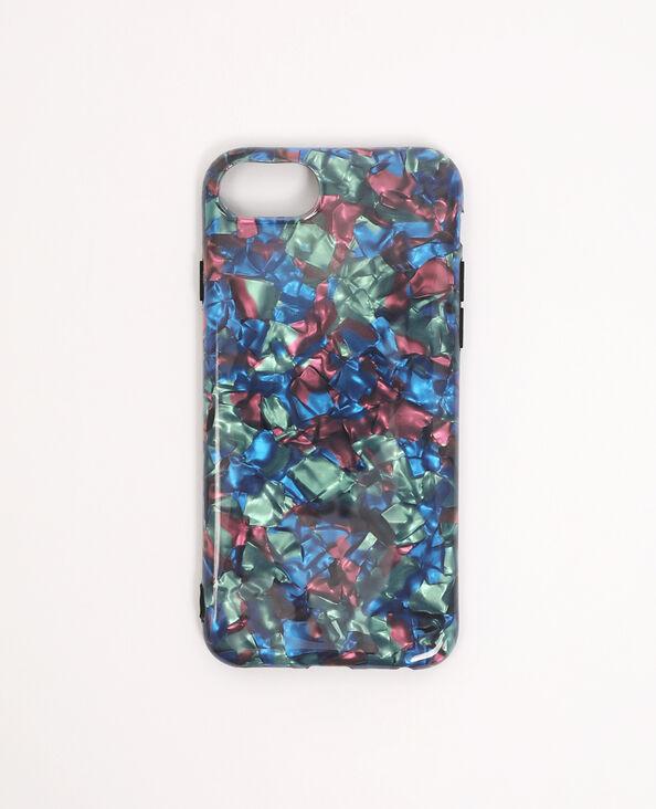 Coque iPhone 6/6S/7/8 bleu