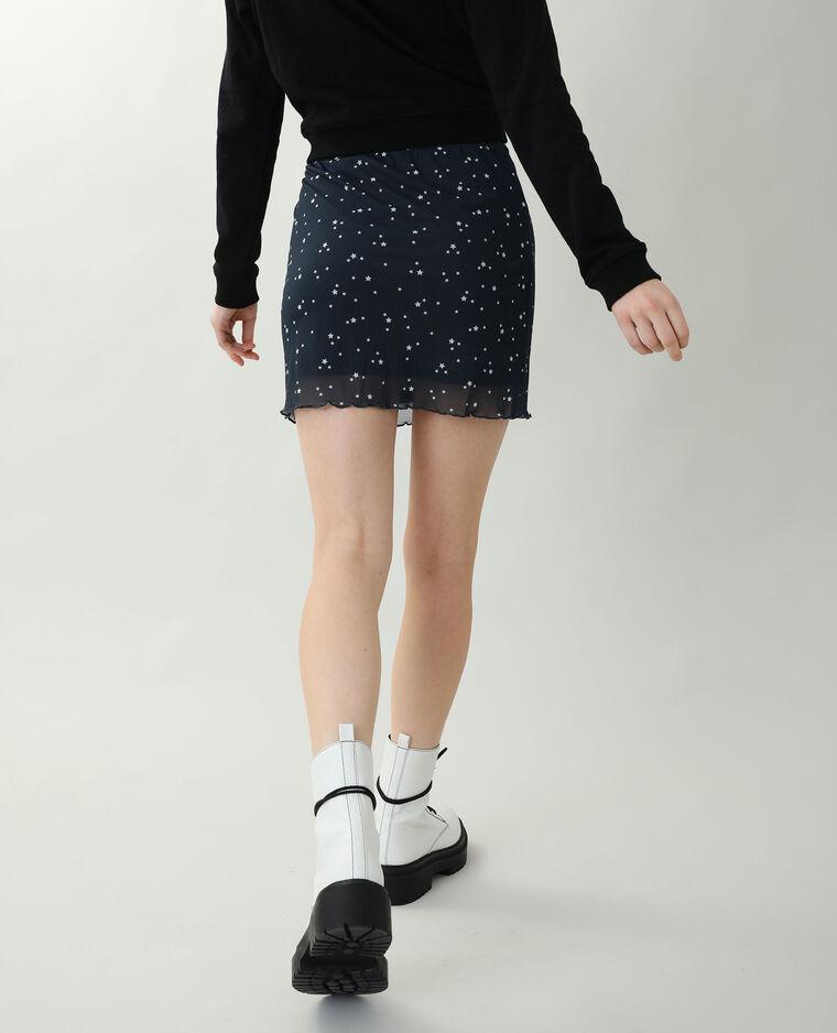 Jupe courte blanc - Pimkie