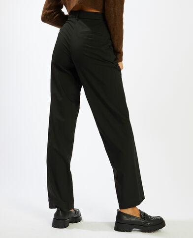 Pantalon à pinces noir - Pimkie