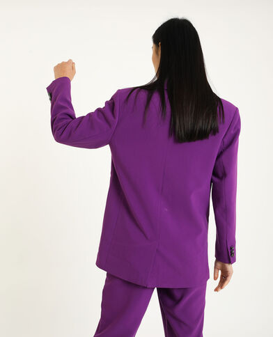 Blazer long violet