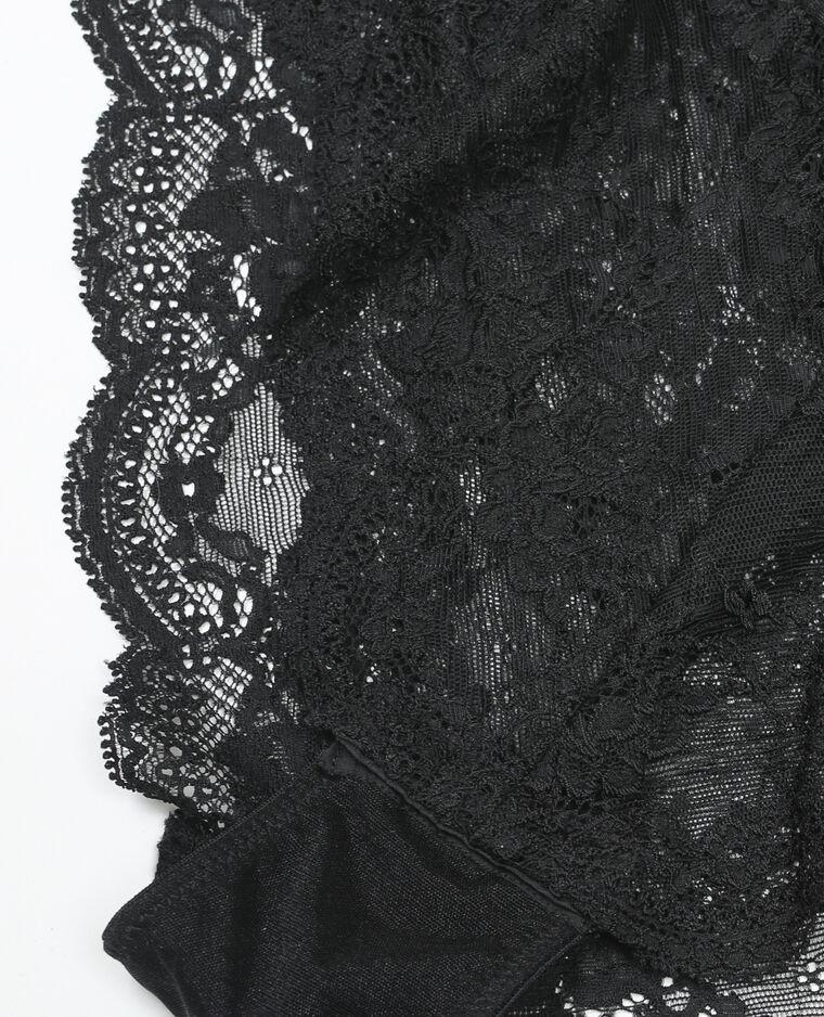 Body dentelle noir