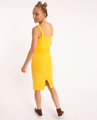 Robe bodycone jaune