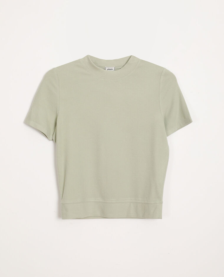 T-shirt doux vert - Pimkie