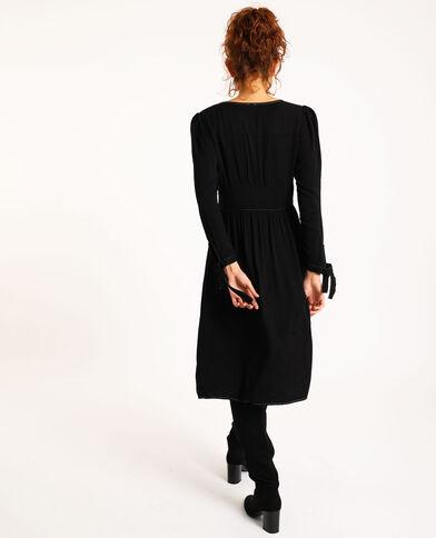 Robe midi noir