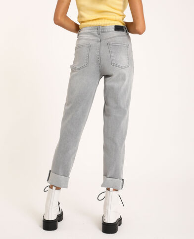 Jean straight gris