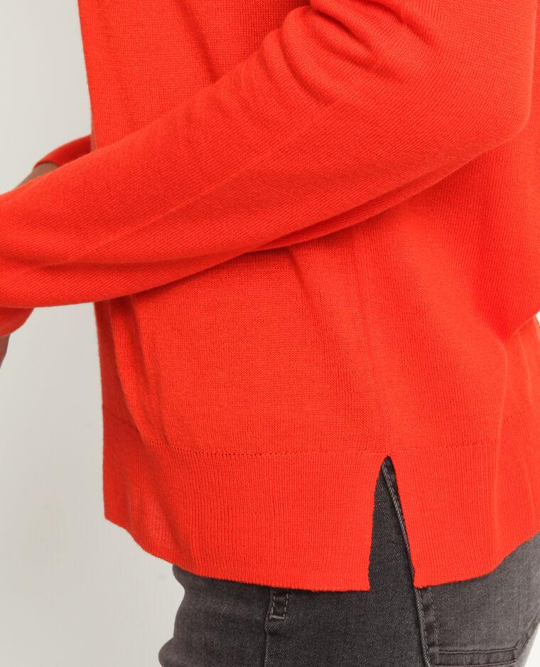 Pull fin orange