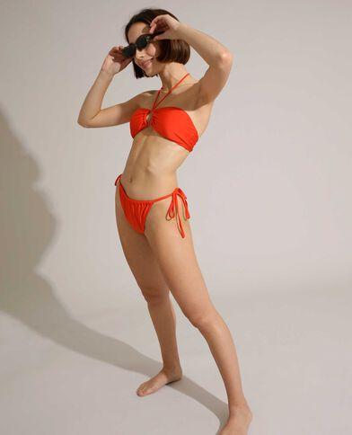Bas de maillot de bain culotte transformable orange - Pimkie