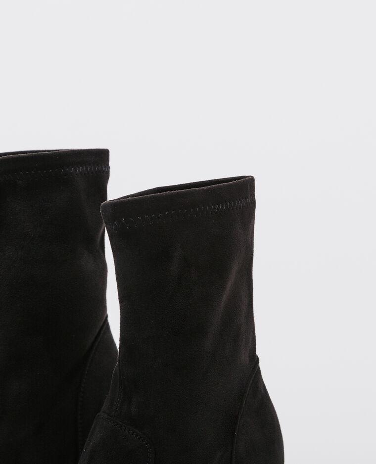 Boots talons hauts noir