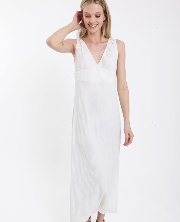 35a0e88c5fe Robe longue blanc