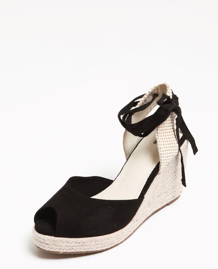Sandales Compensées Noir 916961899a08 Pimkie