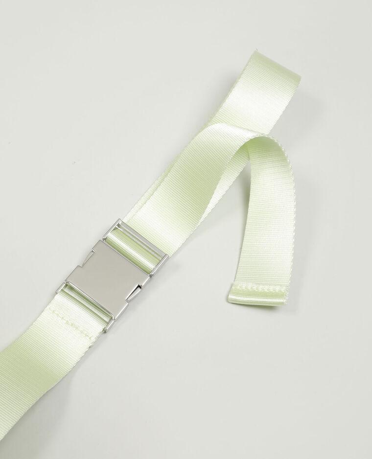 Ceinture clip vert d'eau - Pimkie