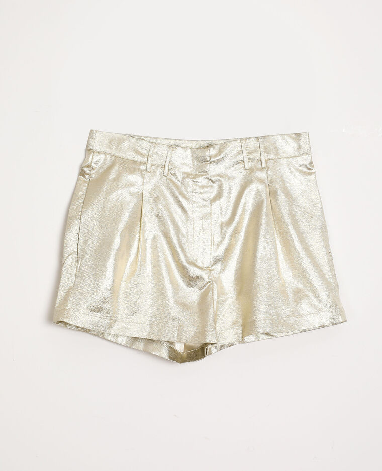 Short brillant doré