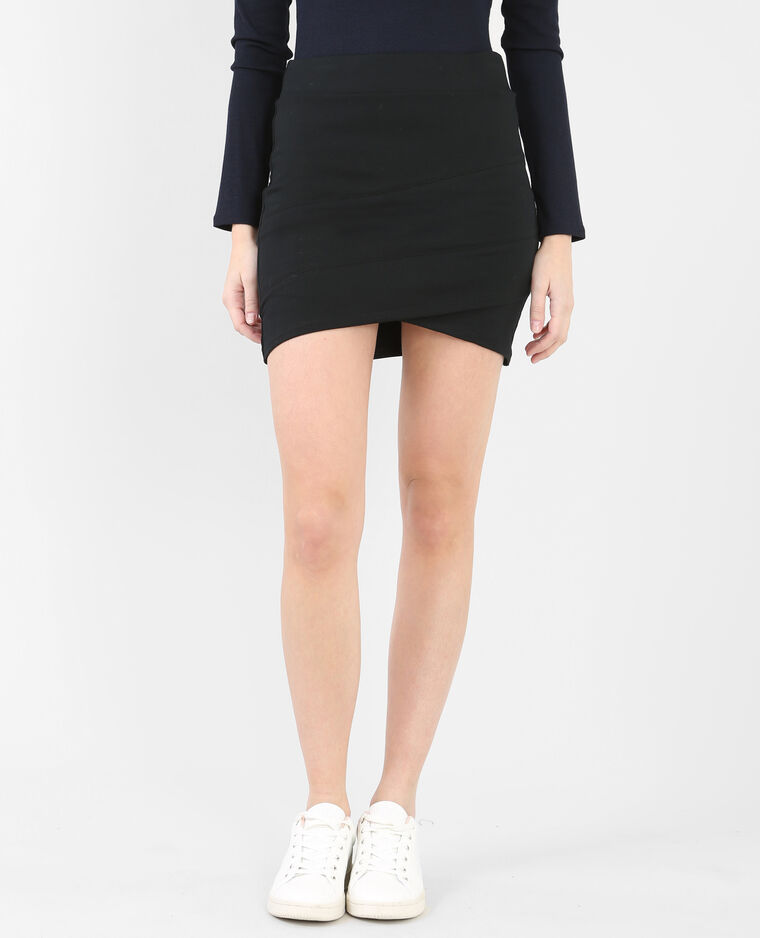 6f11283cfe4d3 Mini jupe moulante noir - 690132899A08   Pimkie