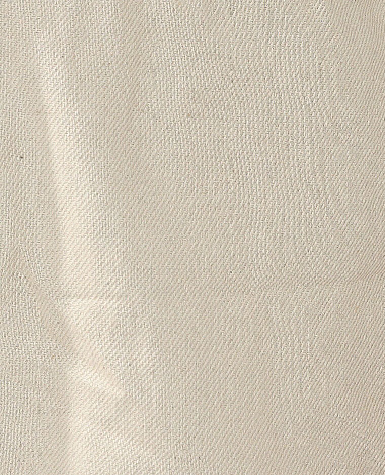 Short taille élastiquée beige - Pimkie