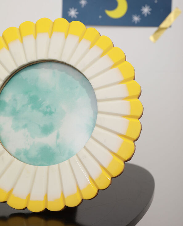 Cadre photo fleur jaune - Pimkie