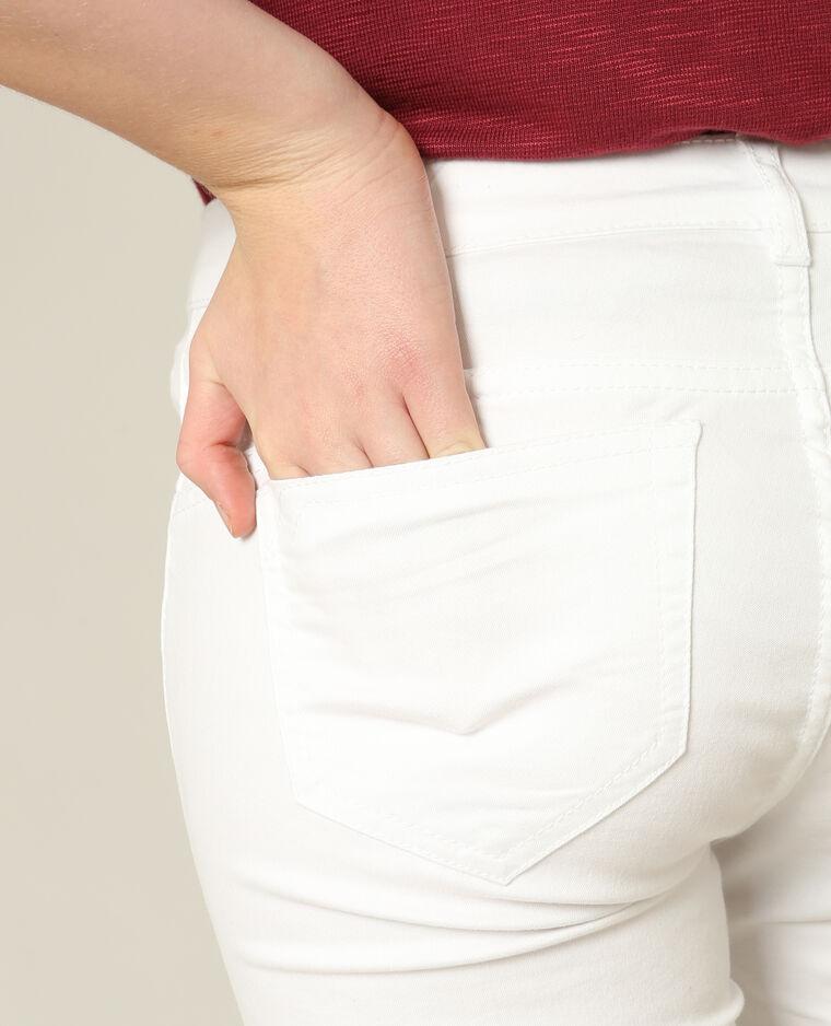 Skinny push up blanc