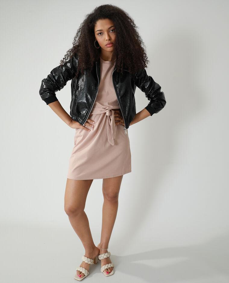 Robe droite à épaulettes rose - Pimkie