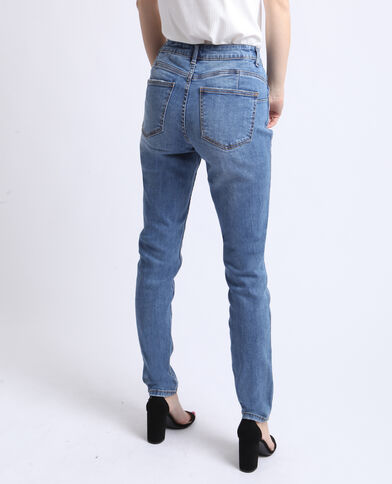 waist bleu mid push denim up Jean wa86t