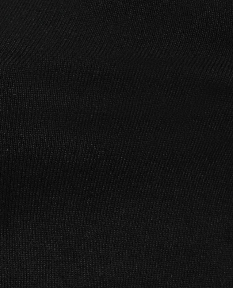 Pull col roulé noir - Pimkie