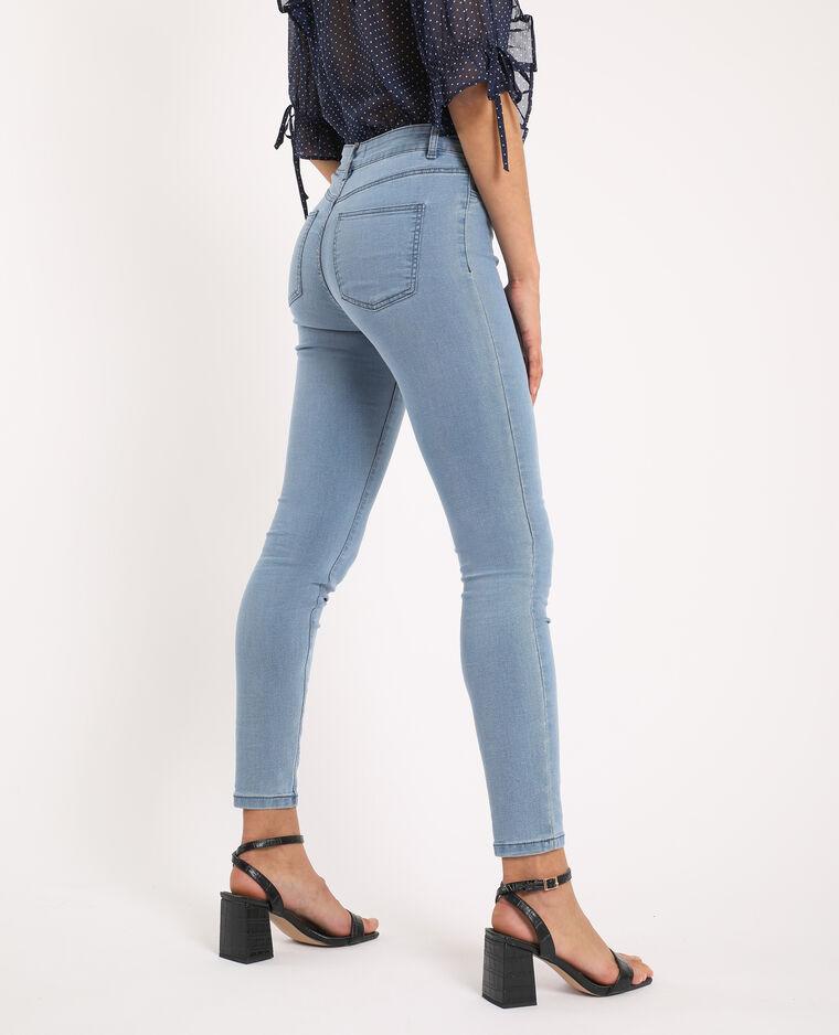 Jegging mid waist bleu jean