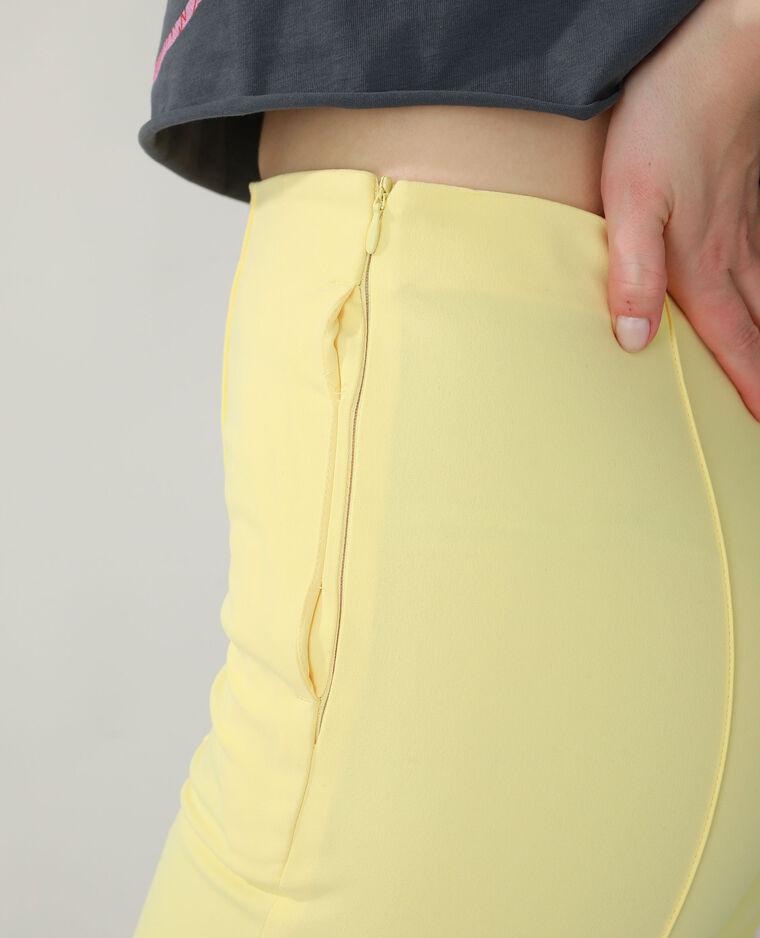 Pantalon city jaune - Pimkie