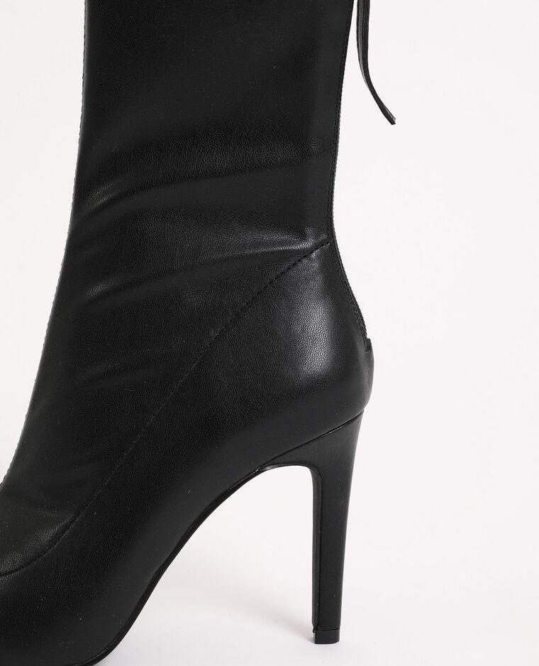 Boots pointues noir