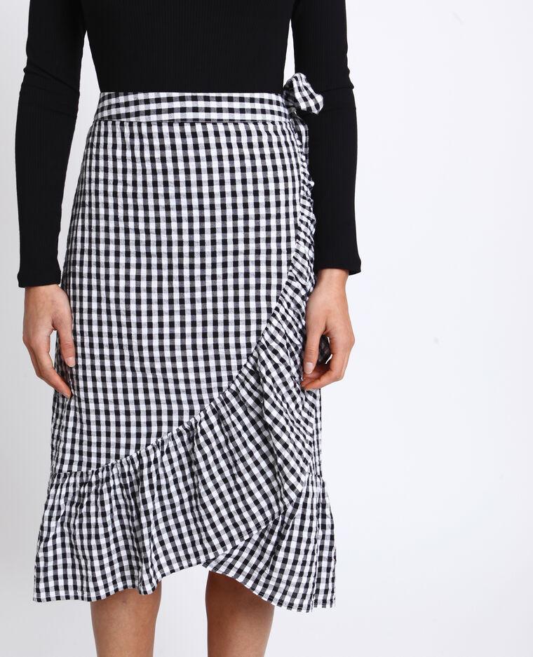 PKZ75 Chaussures Femme 2PC à Volants Jupe à col à manches longues big pocket shirt Jupe Costume