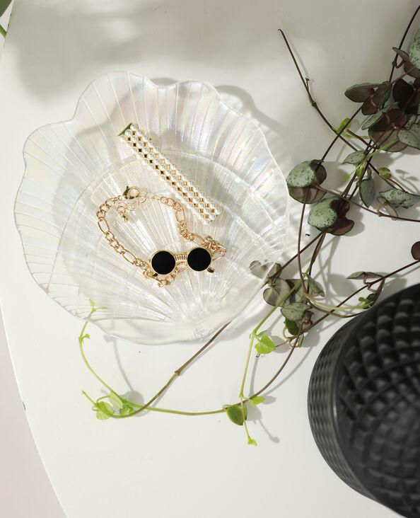 Coupelle coquillage blanc - Pimkie