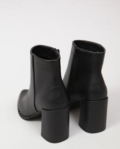 Bottines pointues noir