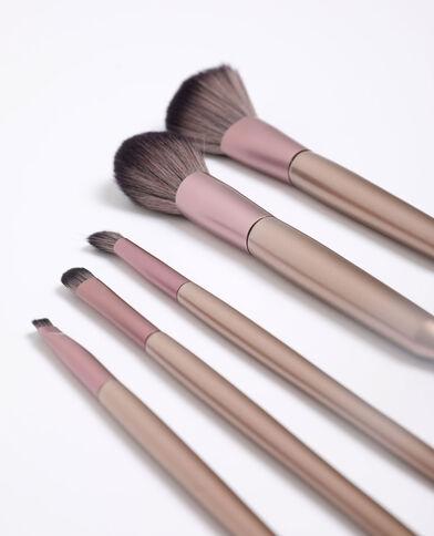 Pinceaux de maquillage rose