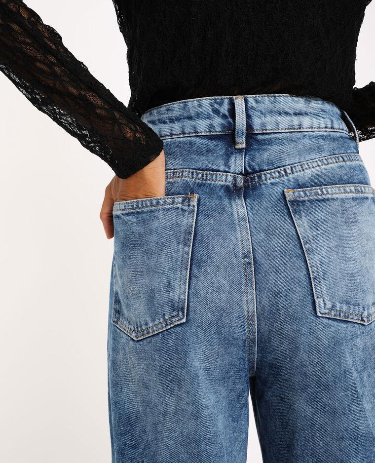 Jean wide leg bleu denim