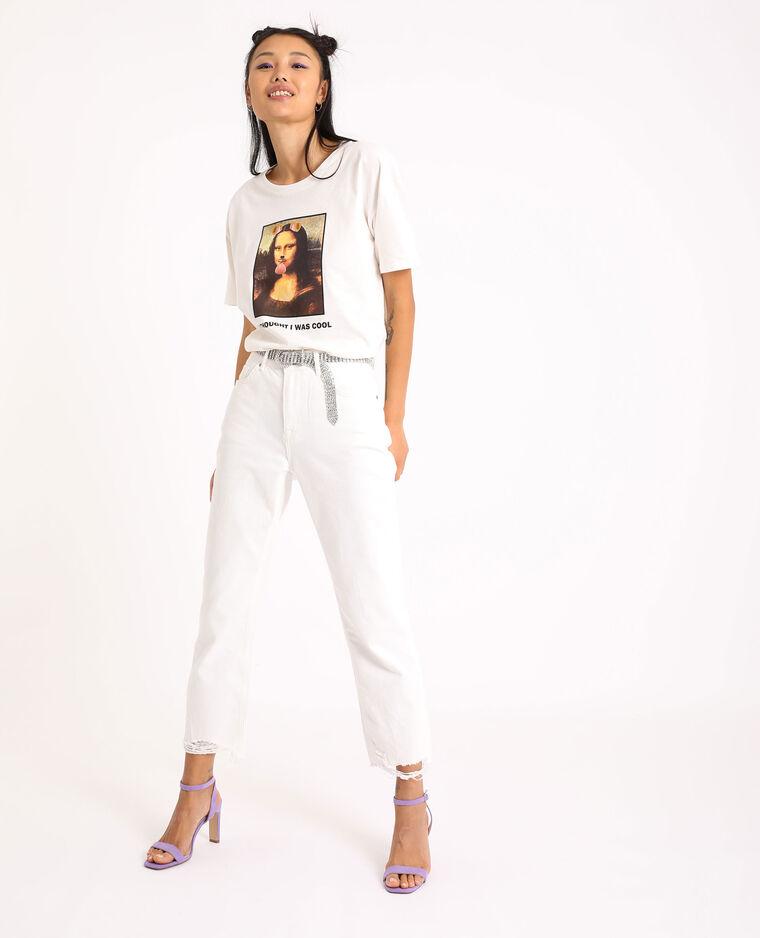 T-shirt graphique blanc - Pimkie