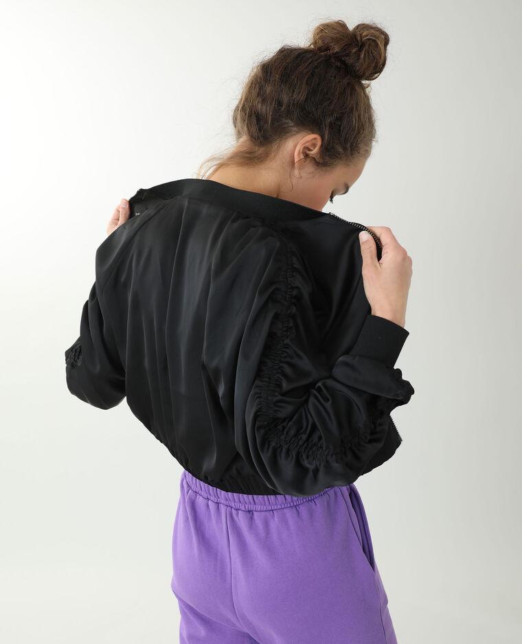 Veste courte noir - Pimkie