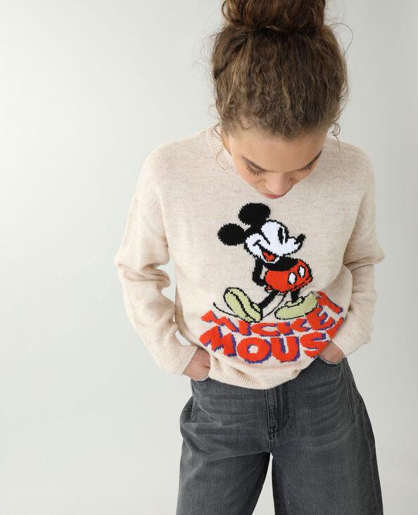 Pull Mickey caramel - Pimkie