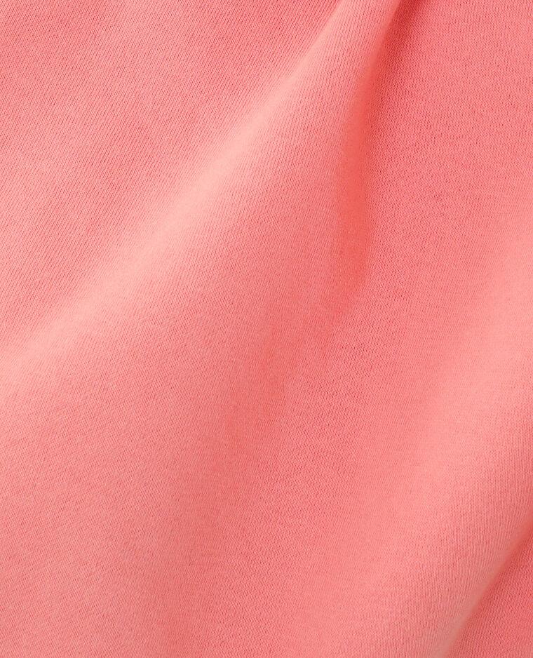 Sweat molleton rose - Pimkie