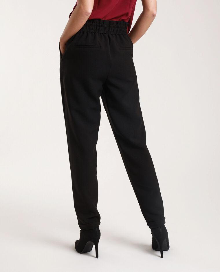 Pantalon city avec ceinture noir - Pimkie
