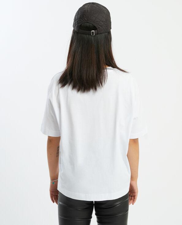 T-shirt oversize imprimé panthère blanc - Pimkie