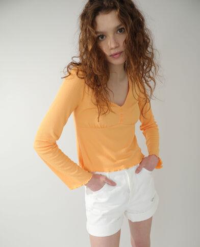 T-shirt orange - Pimkie