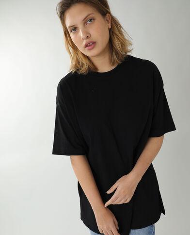 T-shirt basique oversize noir - Pimkie