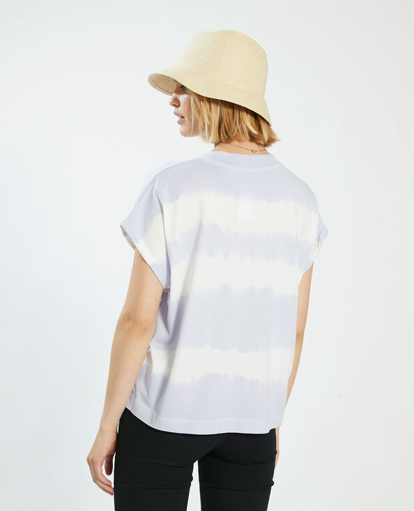 T-shirt tie and dye violet - Pimkie