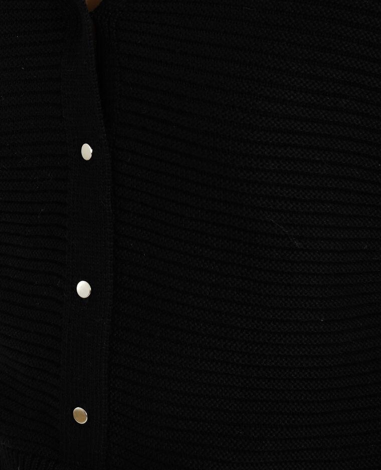 Gilet ample noir