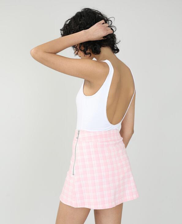 Body côtelé blanc - Pimkie