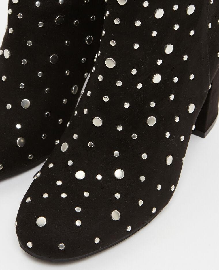 Boots à clous noir - Pimkie