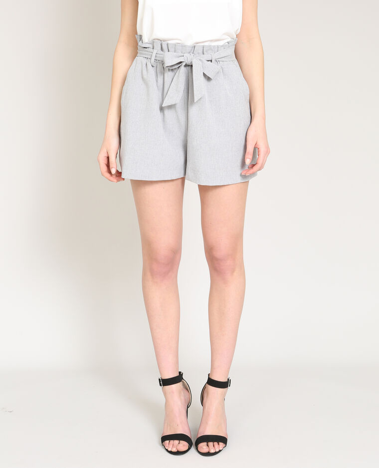 Short léger gris